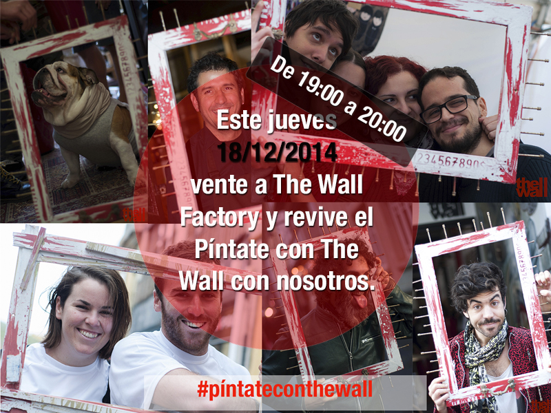 Pintate con the wall